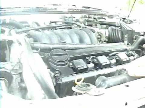 1995-1999 Nissan Maxima: (outdated) Spark plug replacement
