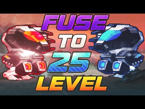 [SuperMechs] BETA TEST FUSING REVIEW!!! 50 LVL FUSING!??!?!?!?