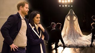 Meghan's £40k wedding dress repeatedly altered after 'health kick' ahead of wedding to Harry