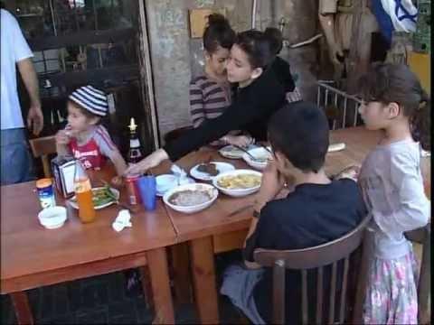 Utcai ételek Izrael - Street Food in Israel