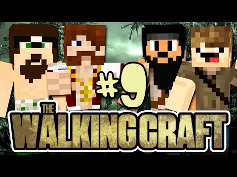 The Walking Craft - ELES QUEREM O PAC!! (c/ Pac, Mike e Jvnq) - #9 - Minecraft