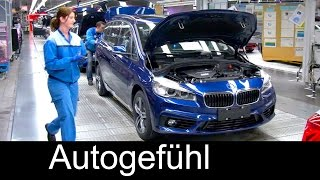 BMW car Production Assembly Plant Regensburg, BMW 2-Series Gran Tourer, Produktion 2er Gran Tourer