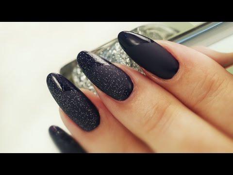 Matte Top Coat Nail Art - Three Elegant Designs