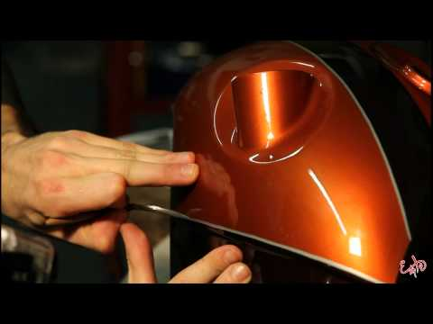 Explo Pinstriping - TroubleHead HD 1000