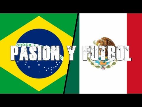 8 minutos de percusión : Brasil vs Mexico