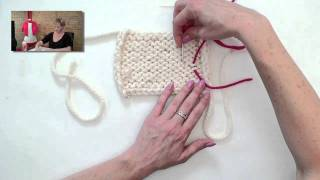 Knitting Help - Weaving in Ends
