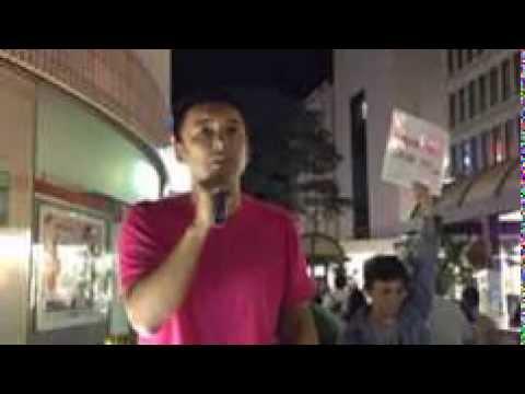 山本太郎「福島県知事選」力を貸してください@福島駅 9/13