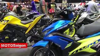 Giá xe moto Yamaha 2018 các mẫu mới nhất cùng giá bán