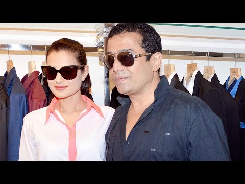 Ameesha Patel & Zayed Khan attends Shahid Amir's new collection launch at Fizaa store