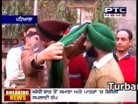 How To Tie A Turban (Tying Turban)  Dastar Academy (Turban Coach...