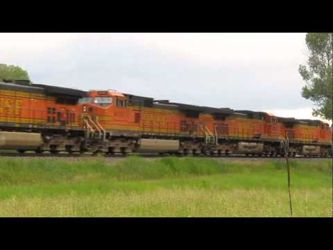 BNSF Detour Trains 6-23-11