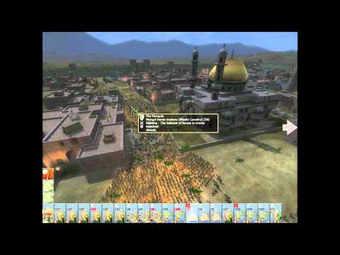 Medieval Ii Total War Campaign: Mongols Siege Antioch - Fight To The Last Man! video