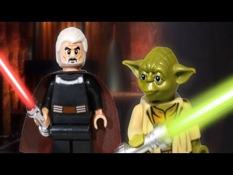 LEGO Star Wars : Summer 2013 Yoda & Count Dooku LEAKED Minifigures - Early Review