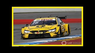 Breaking News | Hockenheim dtm: glock grabs pole by 0.037s