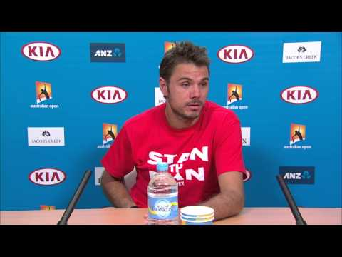 Stan Wawrinka press conference (4R) - Australian Open 2015