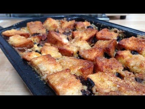 Jessica Alba's Dairy-Free Banana and Apple Bread Pudding Recipe | Healthy Recipes