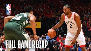 BUCKS vs RAPTORS | Toronto Takes Two Up North | Game 4