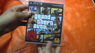 Grand Theft Auto 5 GTA V Unboxing ( German - Deutsch )