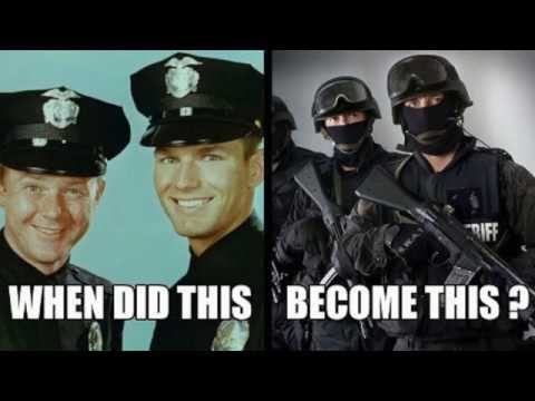 What Happened to the 'Peace Officer'?