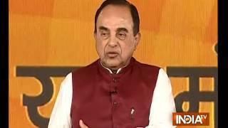 IndiaTV संवाद on Ayodhya dispute: Ram Temple is part of BJP's manifesto, says Subramanian Swamy