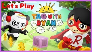Let's play Tag with Ryan - app gameplay  based of Ryans Toy Review