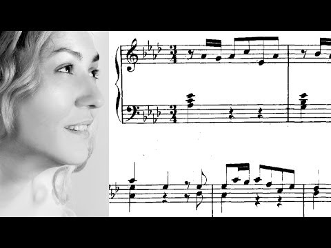 Бах Иоганн Себастьян - BWV 862 - Прелюдия №17 (ля-бемоль мажор)