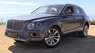 2017 Bentley Bentayga W12 Start Up, Road Test and In Depth Review