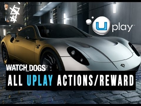 Watch Dogs - All Uplay Actions and Rewards (Bonus Theme. Cars. Guns and etc.)