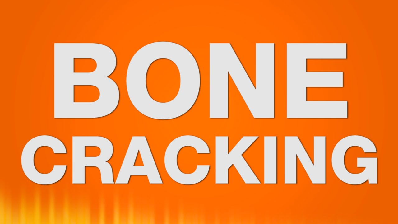 how to stop bones from cracking