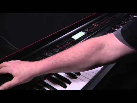 Korg Kross Music Workstation -- Video Manual Part 1 of 5- Introduction & Navigation