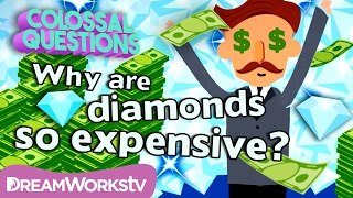 Why Do Diamonds Cost So Much? | COLOSSAL QUESTIONS