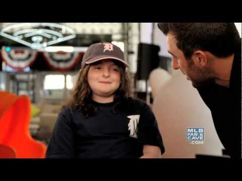 Justin Verlander Meets a Young Fan