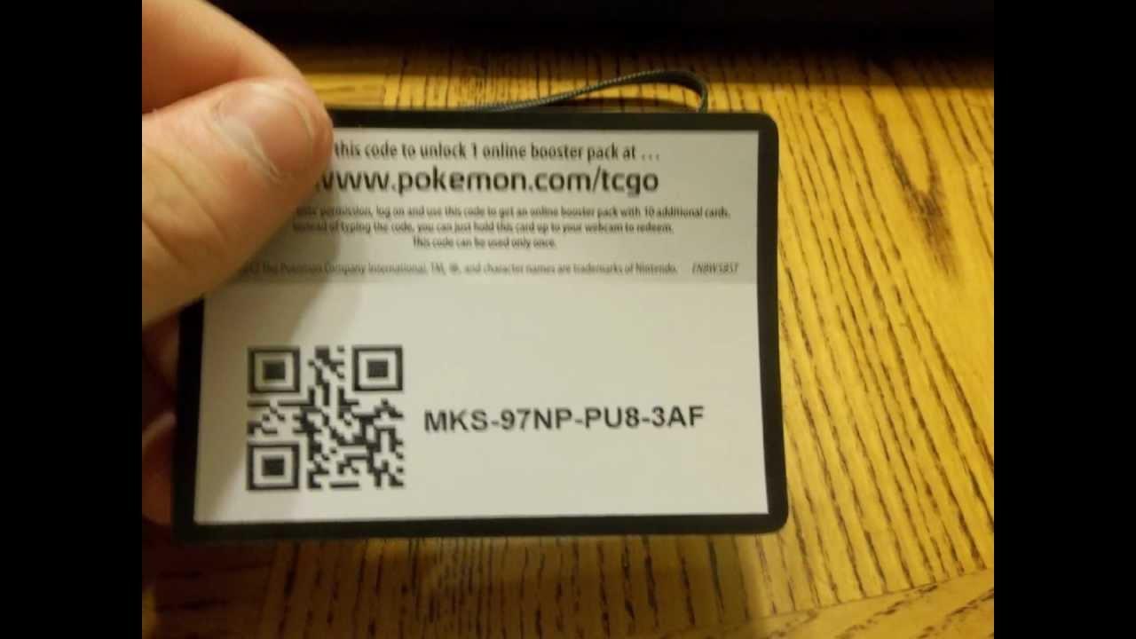 pokemon tcg code generator 2016