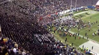 Army - Navy Game 2015 Singing of Alma Mater & Navy Blue and Gold