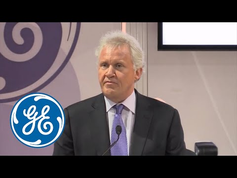 Jeff Immelt, GE Chairman and CEO, celebrated the Radiology Society of North America's (RSNA) centennial anniversary in Chicago, Illinois, Tuesday, Dec. 2, by...