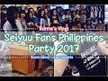 VLOG: SEIYUU FANS PH PARTY 2017 | Ranneveryday MP3