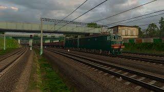 ZDSimulator Мультиплеер По маршруту: Москва - Вязьма v 7.3 Поезд № 2110