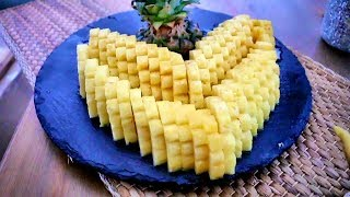 🍍 2 Ways How To Cut And Serve Pineapple