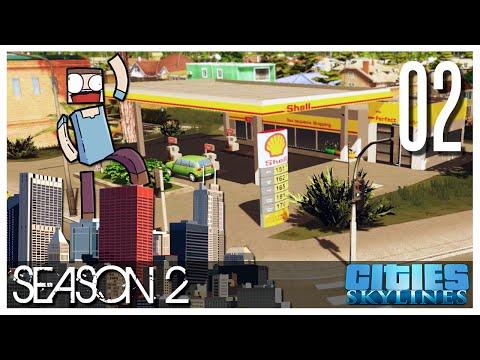 Cities Skylines - S2 Ep.02 : Little Happy Trees!