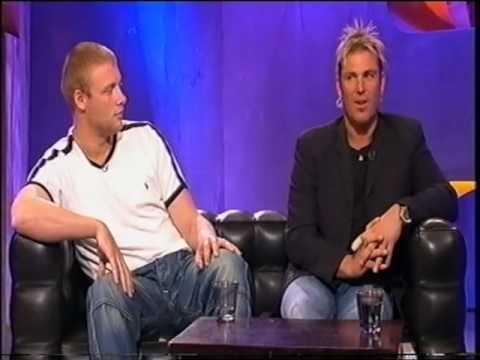 Shane Warne Frank Skinner September 2005