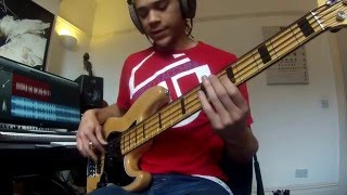 download lagu Uptown Funk 5 String Bass Cover gratis