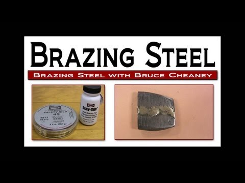 Brazing Steel Soldering Tutorial with Solder and Flux by The Harris Products Group