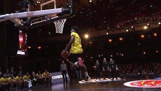Josh Jackson Windmill Dunk at the McDonald