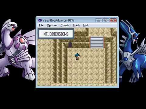 Pok Mon Light Platinum Capturing Palkia Dialga And Mew Out