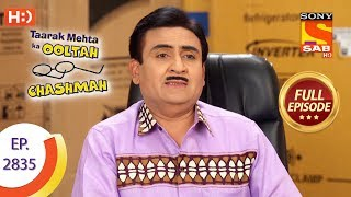 Taarak Mehta Ka Ooltah Chashmah - Ep 2835 - Full Episode - 8th October, 2019