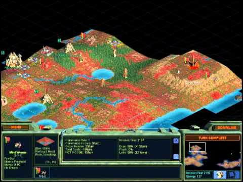 Let's play Alien Crossfire part 8 - twenty five minutes of careful economic management...