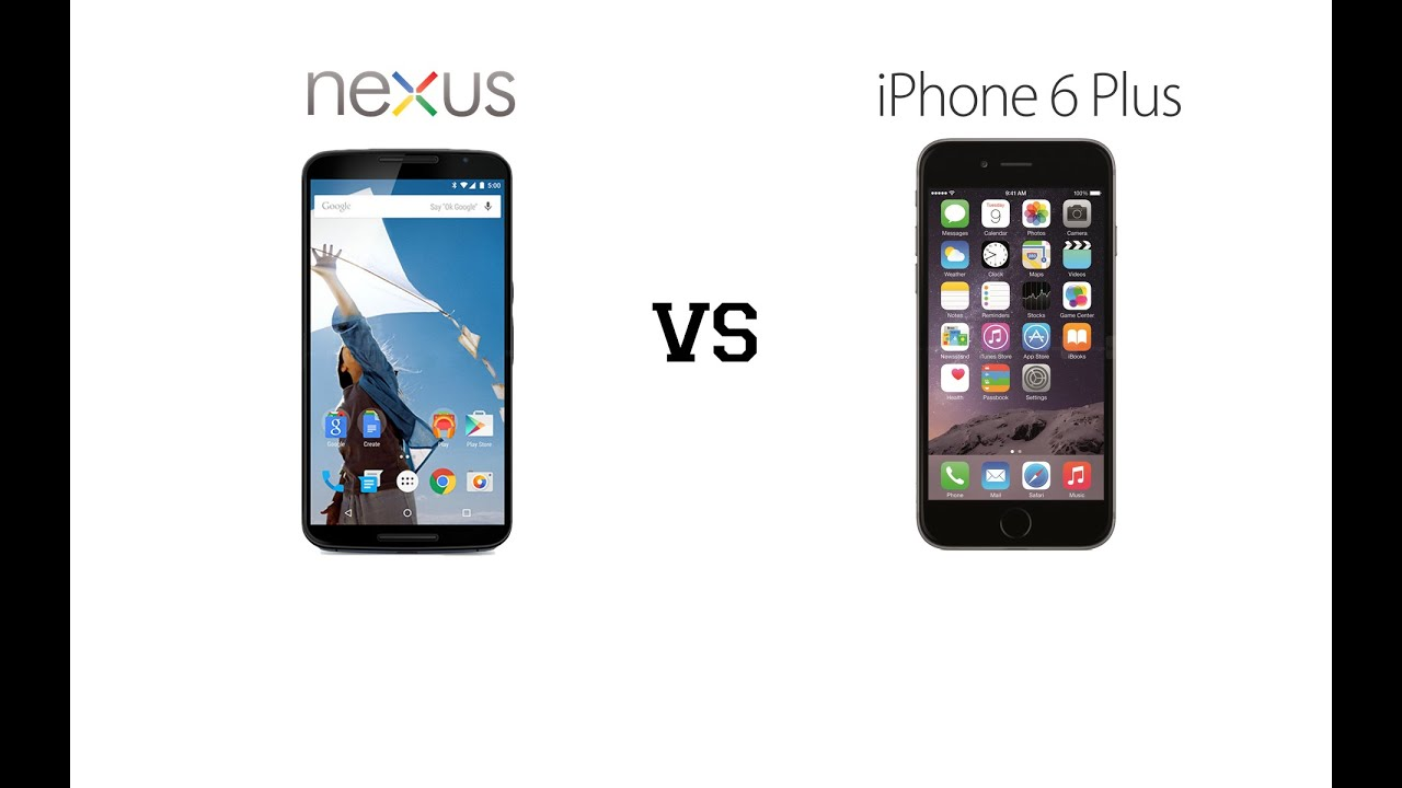 Nexus 6 vs iPhone 6 Plus Specs Comparison