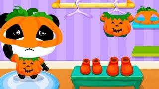 Baby Panda Kids Games -  Baby Panda Super Market + Cafe - Babybus Fun Educational Games For Kids
