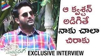 Nithiin SHOCKS Anchor   Nithin Funny Interview   Chal Mohan Ranga Movie   Megha Akash   Pawan Kalyan