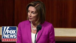 Pelosi stuns House floor with sharp rebuke of Trump's 'racist tweets'